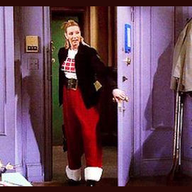 The Santa pants