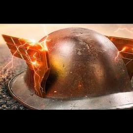 A fancy helmet