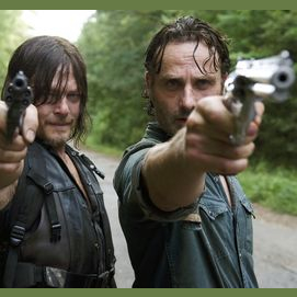 I binge-watched The Walking Dead in one sitting