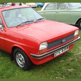 A Ford Fiesta