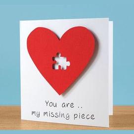A heartfelt card