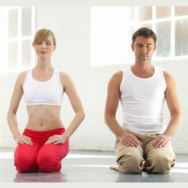 Try to do yoga and hang out with friends