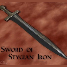 Stygian Iron Sword