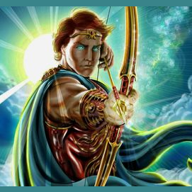 Apollo, god of light and sun