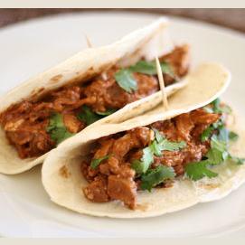 Mole Chicken Tacos