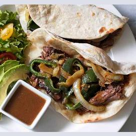 Steak Fajita Taco
