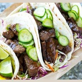 Korean Barbecue Taco