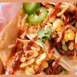 Barbecue Pulled Pork Tacos