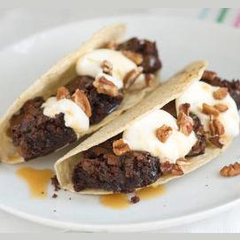 Brownie Tacos