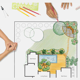 Creating the Vision for Landscapes for Homes and Businesses