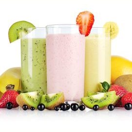 Fruity smoothie (can we pretend it's summer?)