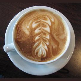 Soy latte, please