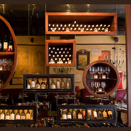 A high end wine bar