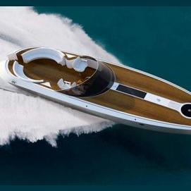 Driving your speedboat.
