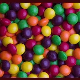 Skittles fruity