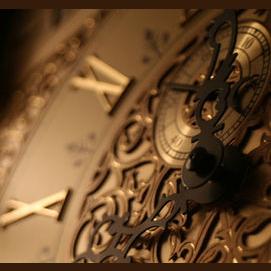 An intriguing clock