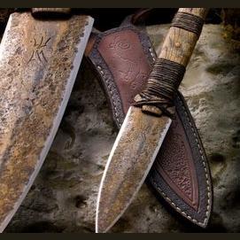 A mystical knife