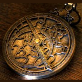 A mysterious astrolabe