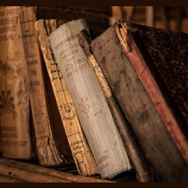A dusty old book