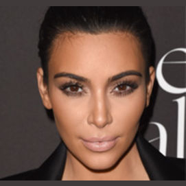 Kim Kardashian - the contouring queen