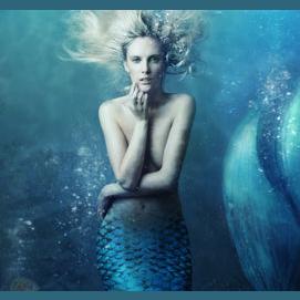 Captured mermaid
