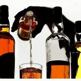 Just good ol' alcohol