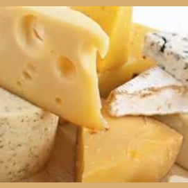 Exotic cheeses