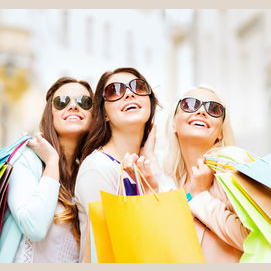 Shopping with your girlfriends