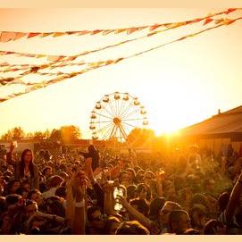 At a big festival