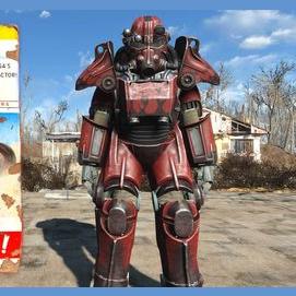 Custom paint job power armour
