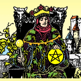 The King of Pentacles