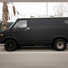 A van.