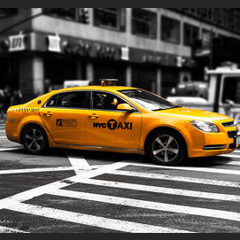 A cab.