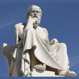 A Greek philosopher