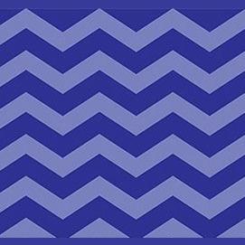 Royal colors like blue or purple.