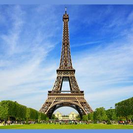 A romantic hotel in Paris