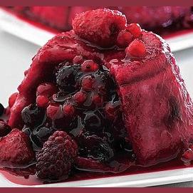 Fruity summer pudding