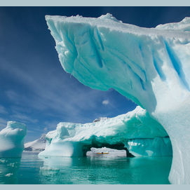 Antarctica cold, isolated