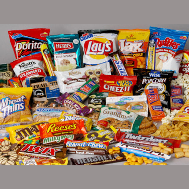 Have an unlimited supply of munchies for life?