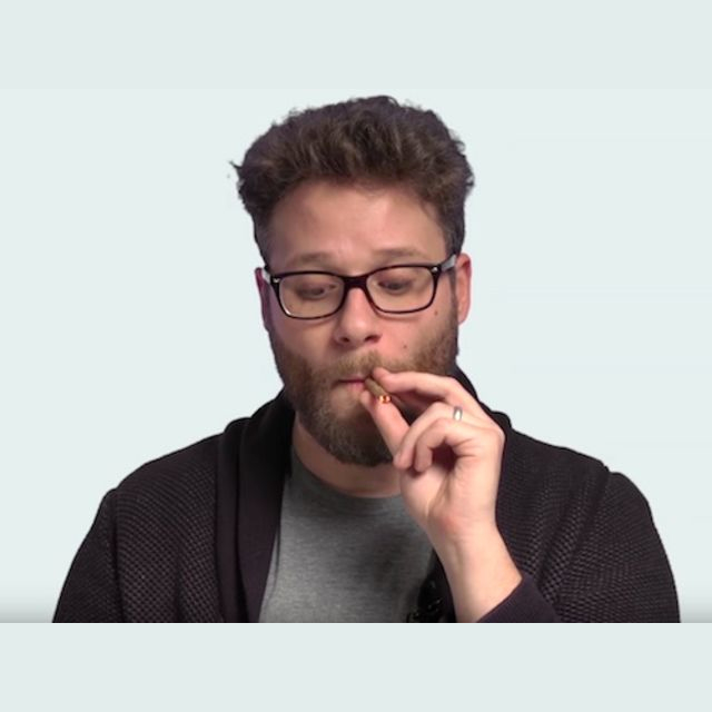 Or with Seth Rogen?