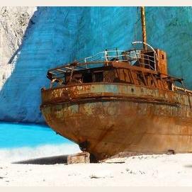 Reffited shipwreck.