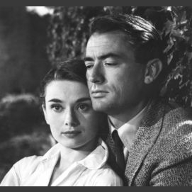 Audrey Hepburn and Gregory Peck (Roman Holiday)