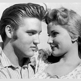 Elvis Presley and Debra Paget (Love Me Tender)