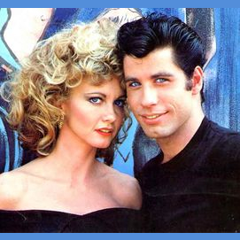Olivia Newton-John and John Travolta (Grease)