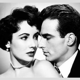 Elizabeth Taylor and Montgomery Clift (A Place in the Sun)