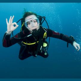 Anything underwater.