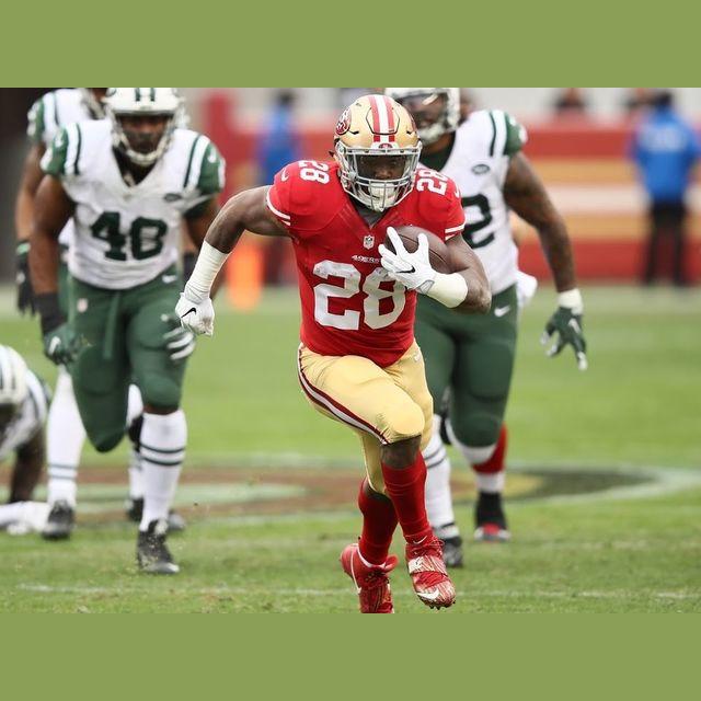 Carlos Hyde (193 yards)