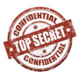 Shhhh! it's a secret