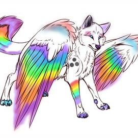 Magical, rainbow animals!