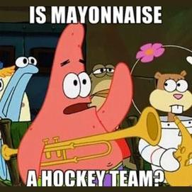 Я не смотрю хоккей